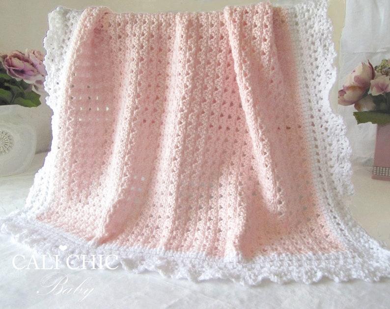 0e64a9d7015f2 Baby Blanket PATTERN 41, Crochet Baby Pattern 41, Angel Blanket Pattern  #41, Instant Download PDF