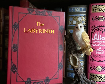Labyrinth Book (book by A.C.H. Smith) Leatherbound Hardcover