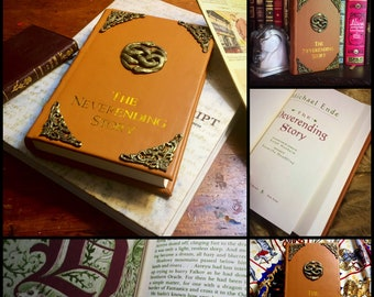 The Neverending Story Book - Leather bound