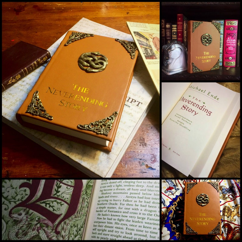The Neverending Story Book  Leather bound image 0