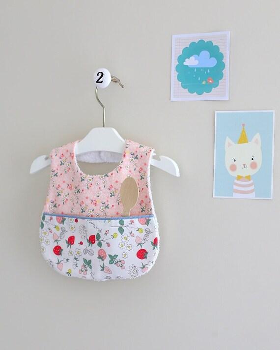 Baby Bib Handmade Baby Girl Bib  391fdd3db