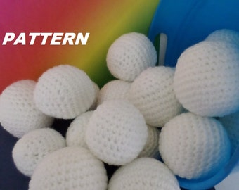 PATTERN Snowballs Crochet