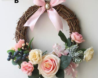 Christmas Wreaths,Year Round Wreath,Front Door Wreath,Rustic Christmas Wreath,Wreaths,Door Hangers,Holiday Wreaths
