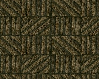 SALE!! - Half Yard Cabin Fever - Cabin Logs in Brown - Cotton Quilt Fabric - Windham Fabrics - 35321-3 (W117)