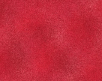SHADOW BLUSH (Basic) - Cadmium Red - Texture Solid Blender - Cotton Quilt Fabric - from Benartex Fabrics - 2045-81 (W4582)