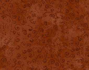 One Yard Quilting Temptations - Blender in Marsala - Cotton Quilt Fabric - Quilting Treasures - 22542-TK (W3228)