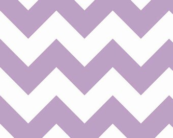 Half Yard Large Chevron - Lavender Purple - Cotton Quilt Fabric - C330-120 - RBD Designers for Riley Blake Designs (W3312)