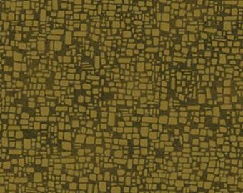 SUPER CLEARANCE!! One Yard Casablanca - Kasbah in Leaf - Cotton Quilt Fabric - Benartex Fabrics 1198-44 (W2396)