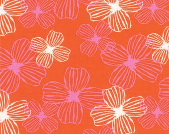 One Yard Daydreams - Reverie in Persimmon - Cotton Quilt Fabric - designed by Kate Spain for Moda Fabrics - 27172-18 (W2796)