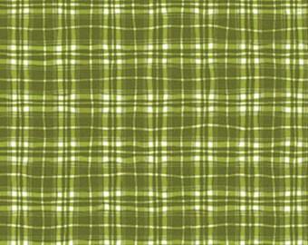 Fat Quarter - MORE of This 'N That  - Lattice in Wintergreen - Cotton Quilt Fabric - Designed by Nancy Halvorsen for Benartex (W1945)