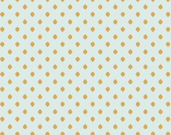 One Yard Drift - Island Droplets in Sand - Cotton Quilt Fabric - from Angela Walters for Art Gallery Fabrics (W1701)