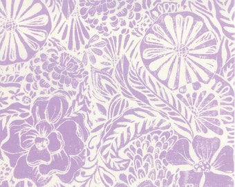 HORIZON - Flora in Orchid Purple - Floral Cotton Quilt Fabric - designed by Kate Spain for Moda Fabrics - 27190-15 (W2296)