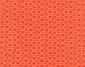 VOYAGE - Bomeo in Mandarin Orange - Diamond Geometric Blender Cotton Quilt Fabric - 27288-22 - Kate Spain for Moda Fabrics (W4520)