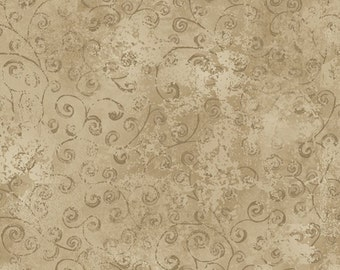 One Yard Quilting Temptations - Blender in Driftwood - Cotton Quilt Fabric - Quilting Treasures - 22542-AK (W3215)