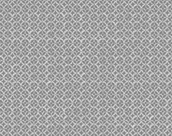 "REMNANT!!  Amboseli - Geometric in Light Gray - 28"" x WOF - Cotton Quilt Fabric - by Bethany Shackelford for Quilting Treasures (W1985)"