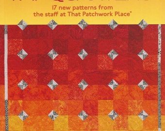Quilting With Fat Quarters - Pattern Book from That Patchwork Place - Martingale Quilt Patterns - 17 Project Designs