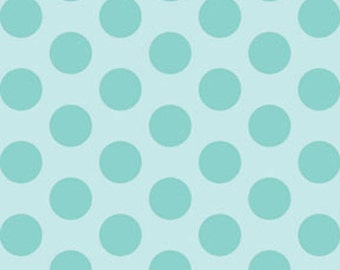Fat Quarter This 'N That - Gum Drops in Aqua - Cotton Quilt Fabric - Designed by Nancy Halvorsen for Benartex (w1659)