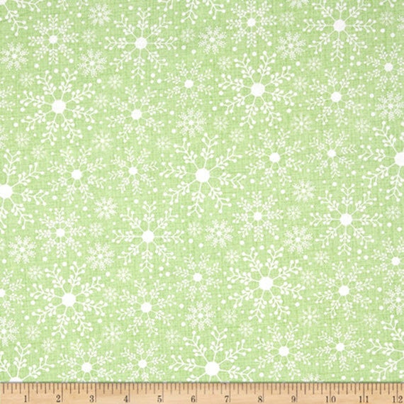 100/% Cotton Snowflakes Frosty Forest Benartex By Cherry Guidry