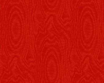 Fat Quarter That's A Moiré - Moire in Red - Cotton Quilt Fabric - by Whistler Studios for Windham Fabrics (W2149)