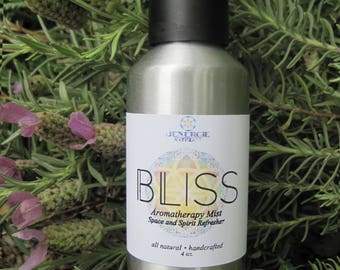 Aromatherapy Spray // Yoga Mat Spray // Spirit & Space Refresher // Choose from Bliss or Fresca scent