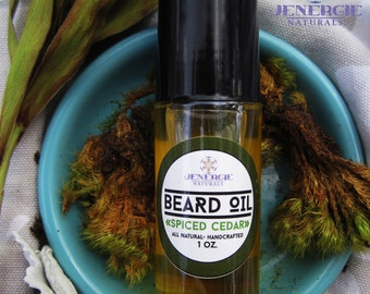 Spiced Cedarwood Beard Oil /// Organic Ingredients