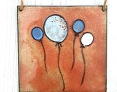 Enamel Balloon Picture - Wall Hanging