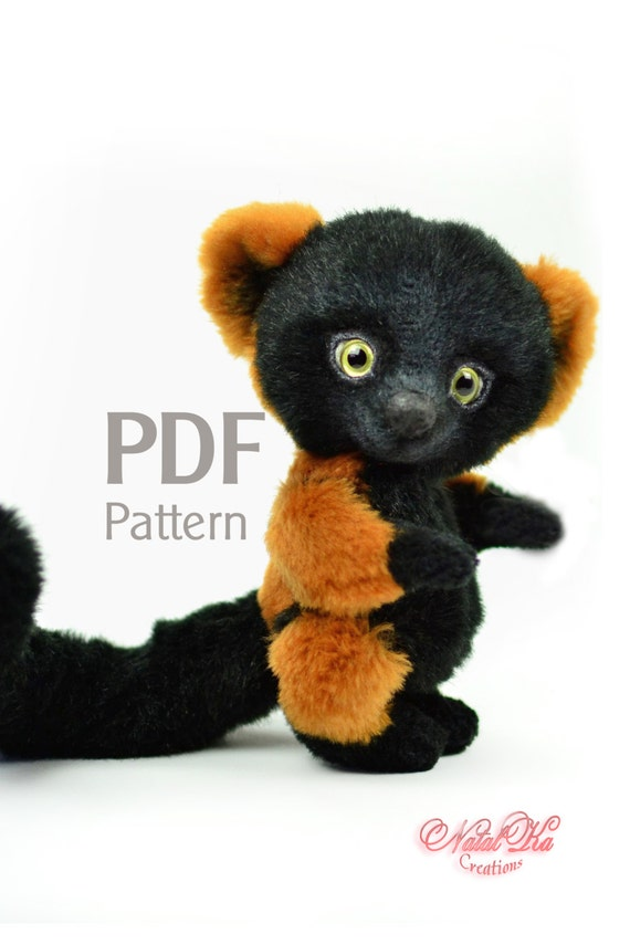 Schnittmuster Roter Vari PDF 155 cm Lemur Digitaler | Etsy