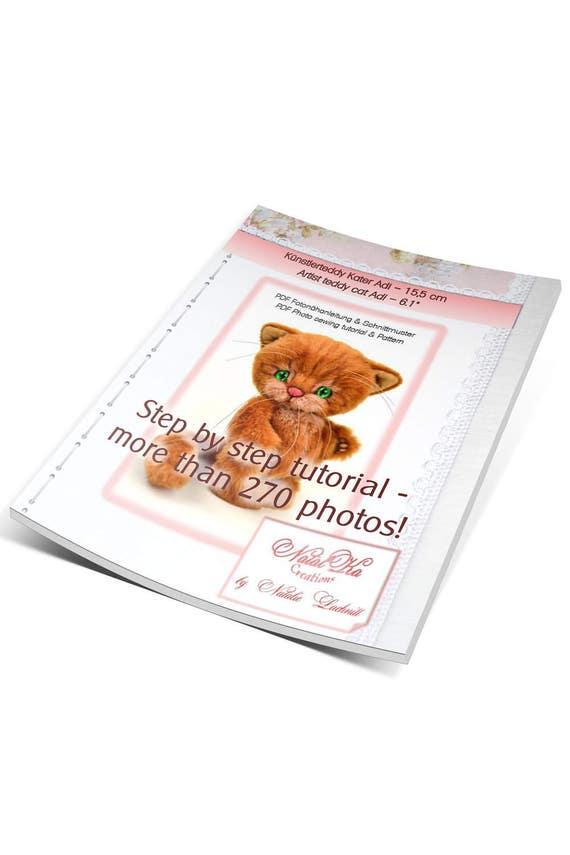 PDF Nähanleitung und Schnittmuster Teddy Katze Adi 155 cm   Etsy