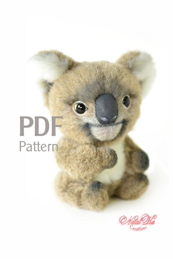 Schnittmuster Koala PDF 155 cm Digitaler Schnittmuster | Etsy