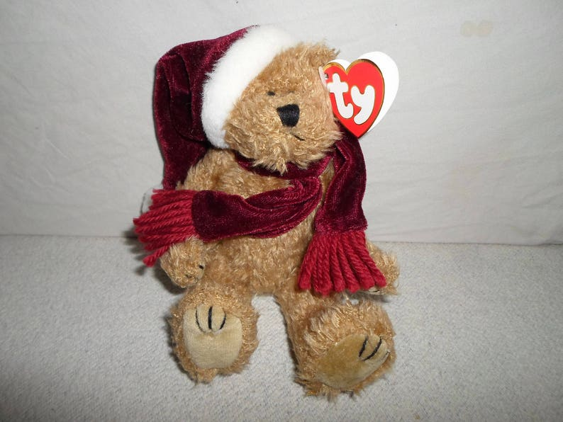 New Limited Beanie Babies 3-Piece Santa Suit Costume Christmas Bear Not Included