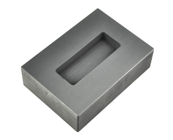 10 oz Deep Cross Gold High Density Graphite Mold 5 oz Silver Made in The USA