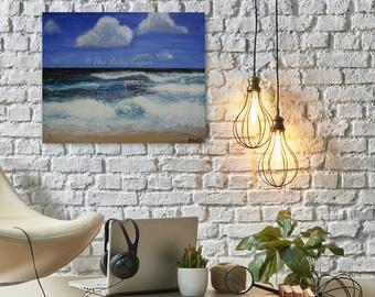 Hawaiian Seascape 4 Original Acrylic Painting,