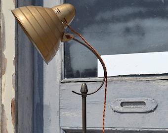 Mid Century Floor Lamp, General Electric Floor Lamp, Industrial Floor Lamp, Retro Lighting, Beehive Lamp, Steampunk Lamp, Industrial Vintage