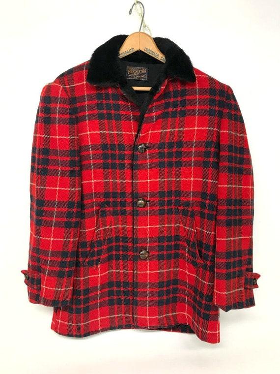 Vintage Pendleton Coat, 1950s Pendleton, Pendleton