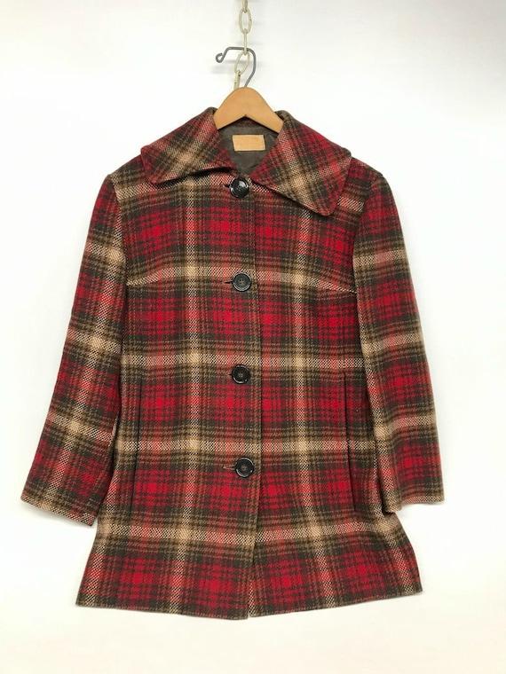Vintage Pendleton Jacket, 1950s Pendleton, Pendlet