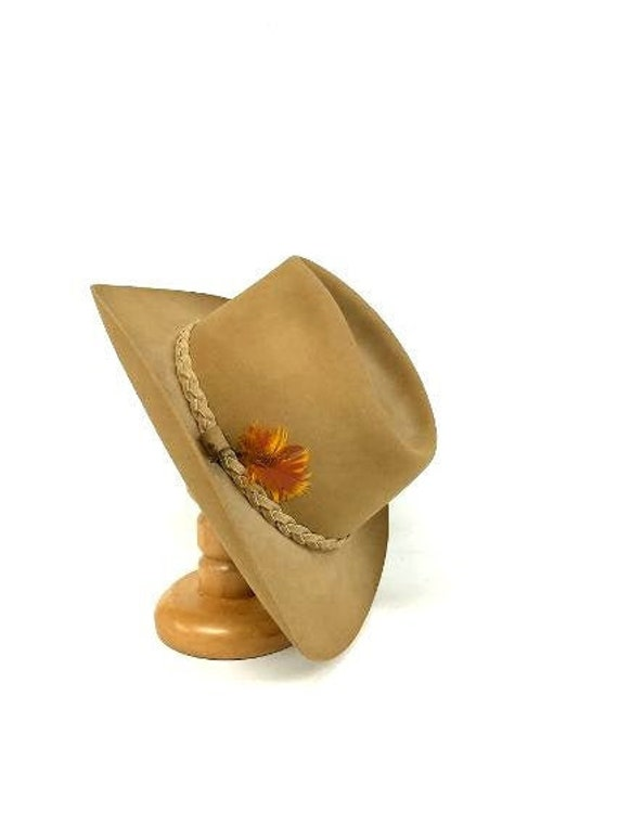 Vintage Resistol Hat, Resistol Cowboy Hat, Resisto