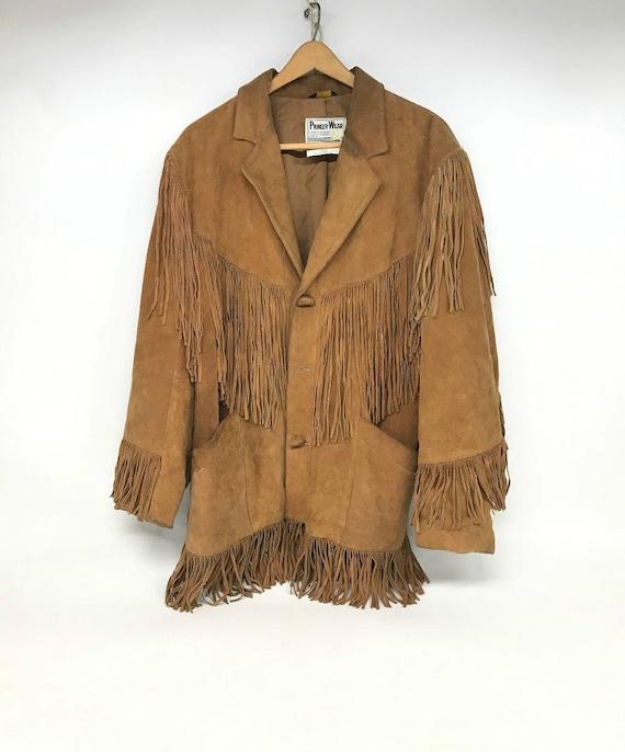 Vintage Pioneer Wear, Leather Jacket, Vintage Leat