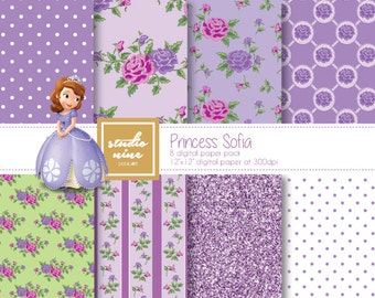 Princess Sofia Digital Paper