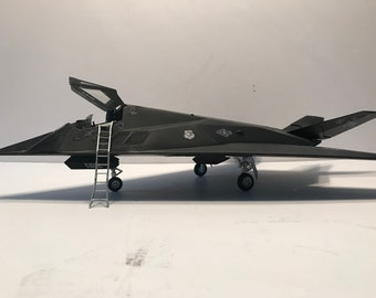 F-117A Nighthawk stealth fighter-  1/48 scale- Built Plastic Scale Model