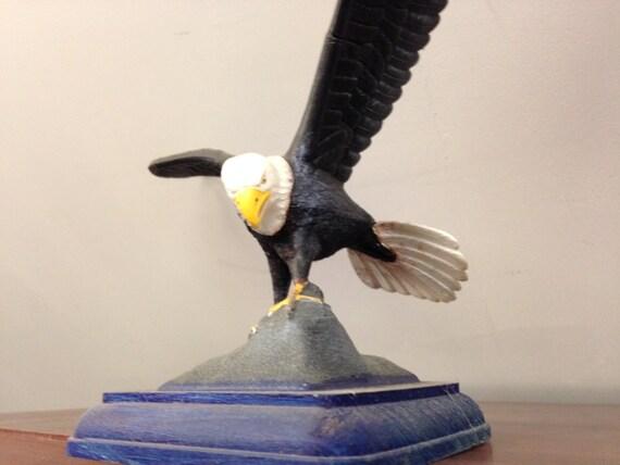 Águila calva americana envergadura de escala modelo 13   Etsy