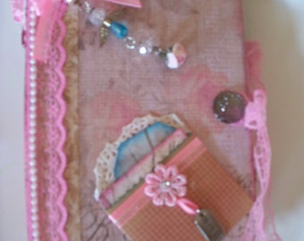 Handmade Shabby Chic Mini Album