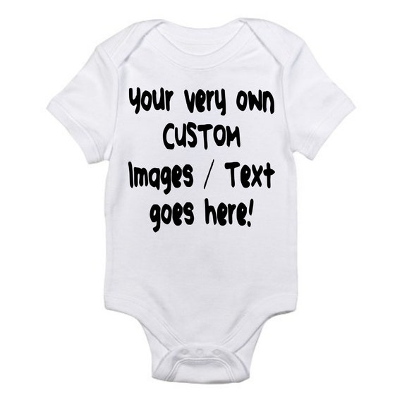 Chamuco Customs Baby Football with Custom Personalized Back Lettering Bodysuit Outfit Brown Unisex