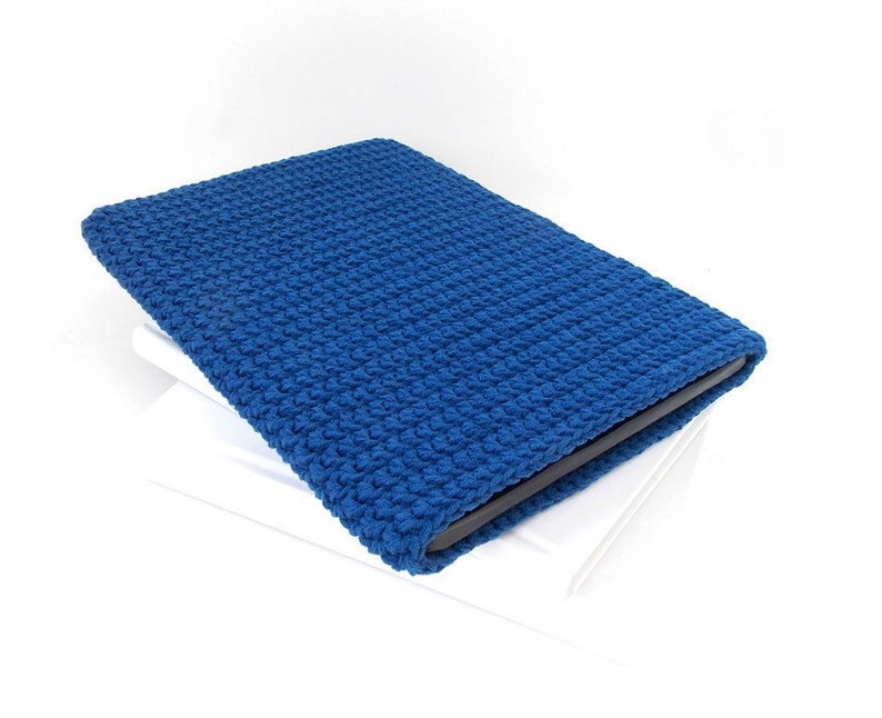 new photos 1a830 0088b Navy Blue Alcatel 1T 7 tablet case, vegan iPad mini 4 pouch, Xiaomi Mi Pad  4 cover, LG G Pad sock, ZTE Grand X View2 case, Lenovo Tab sleeve