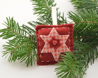 Felt Christmas ornament, Christmas star, felt ornament, Christmas decoration, Christmas ornament, felt toys, Christmas toys, felt star