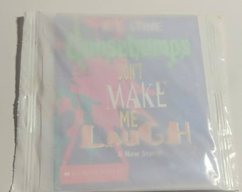 1996 Goosebumps Mini Book Frito Lay Promo Prize Sealed Don't Make Me Laugh R.L. Stine Premium