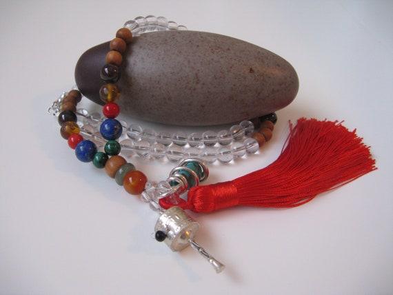 Mens necklace Hot Sale Chakra Aura Healing Necklace Buddha Yoga Meditation Pendant Spirit Om Symbol Hope Necklace