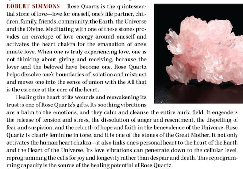 Clear Quartz DIVINE LOVE Sterling Silver Gemstone /& Crystal Necklace Multicolor Beryl Morganite Elestial Crystallized Rose Quartz Brazil