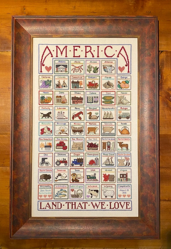 America Land That We Love By Jean Farish Pdf Etsy