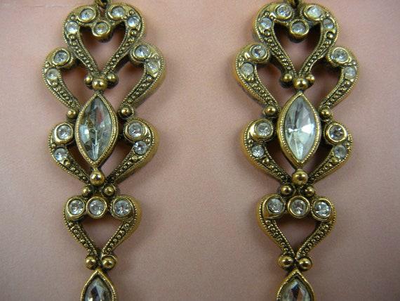 Costume Earrings L1 Avon Jewelry Fancy Earrings Avon Earrings Elegant Earrings Striking Earrings Gift For Her