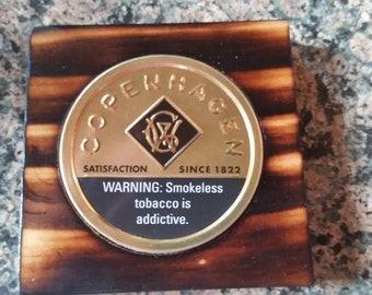 Snuff Lid Coasters - unique and handmade!